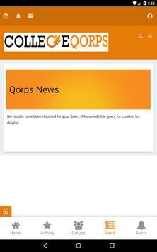 CollegeQorps apk screenshot