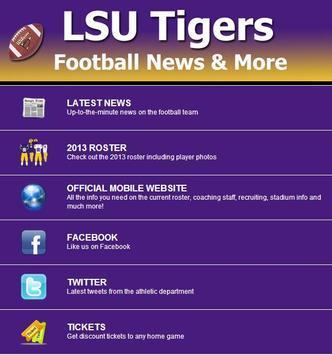 LSU Football News screenshot 6