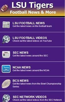 LSU Football News screenshot 1