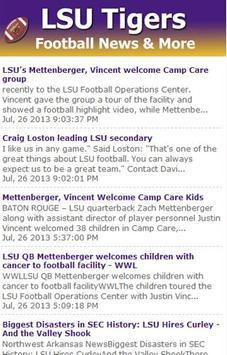 LSU Football News screenshot 2