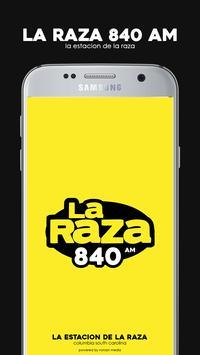 La Raza 840 AM screenshot 1