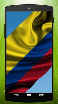 Colombian Flag Live Wallpaper poster
