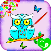 Coloring Book For_Adult icon