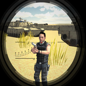 Desert Mountain Sniper 3D icon