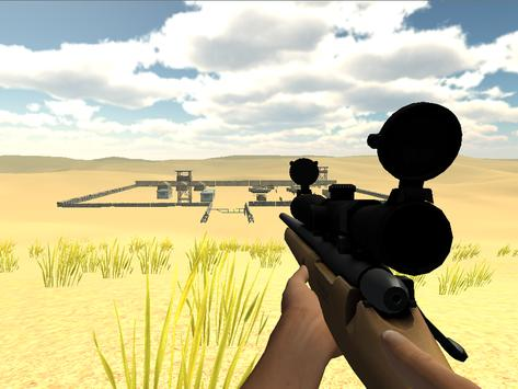 Desert Mountain Sniper 3D apk screenshot
