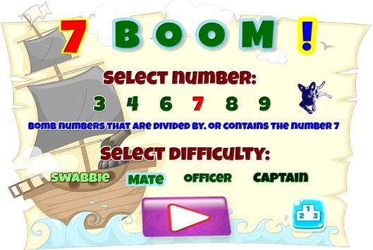 Seven - BOOM! poster