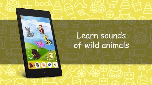Sounds for kids FREE screenshot 7