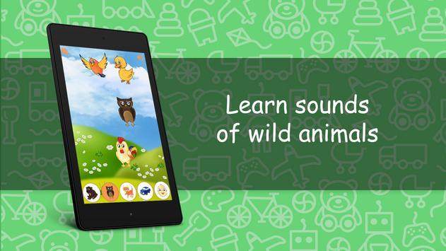 Sounds for kids FREE screenshot 14