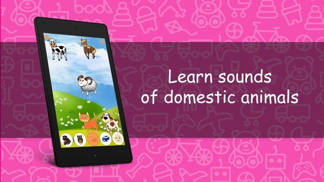 Sounds for kids FREE screenshot 15