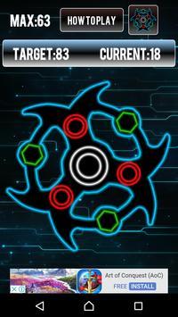 Fidget Spinner Glow apk screenshot