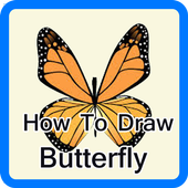 Draw Butterfly Step By Step icon