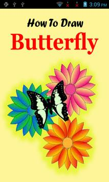 Draw Butterfly Step By Step poster