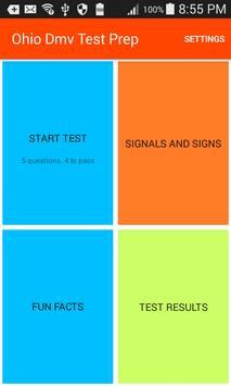 Ohio Dmv Test Prep poster