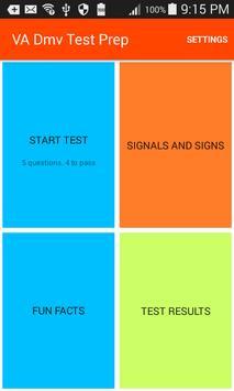 Virginia Dmv Test Prep poster