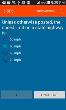 Washington Dmv Test Prep apk screenshot