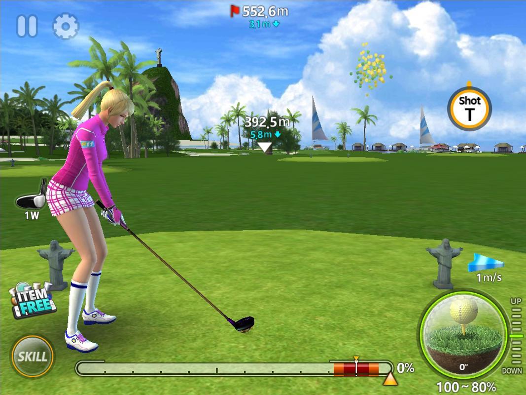 تحميل لعبة golfing over it apk