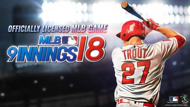 MLB:9局職棒18 海報