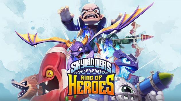 Skylanders™ Ring of Heroes पोस्टर