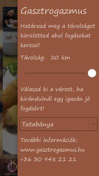 Gasztrogazmus apk screenshot