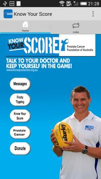 Know Your Score WA poster