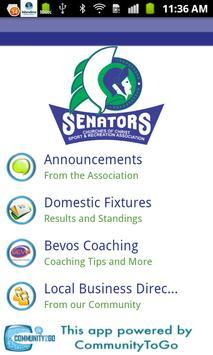 Warwick Senators Basketball poster