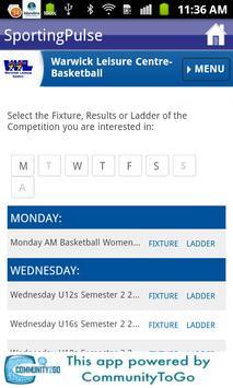 Warwick Senators Basketball screenshot 2