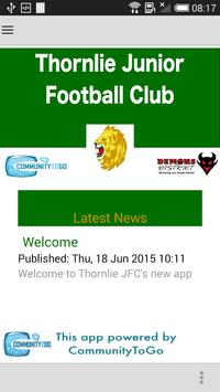 Thornlie JFC poster