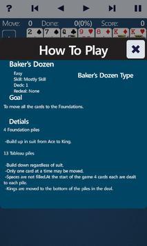 Baker's Dozen Solitaire screenshot 3