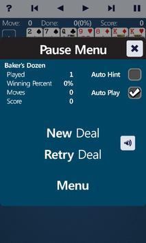 Baker's Dozen Solitaire screenshot 9