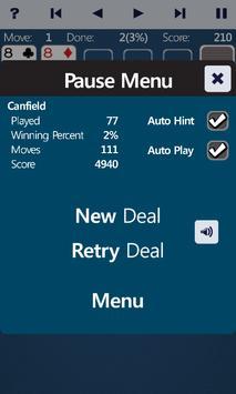 Canfiled Solitaire apk screenshot