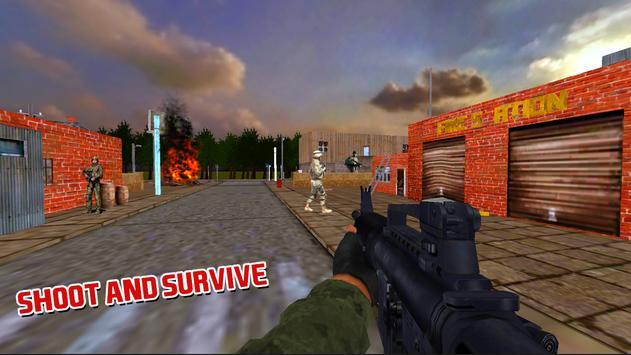 Commando Covert Strike Battle #1 FPS Shooting Game apk screenshot