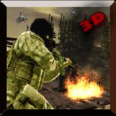 Commando War Jungle Zone Shoot icon