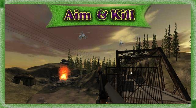 Commando War Jungle Zone Shoot screenshot 5