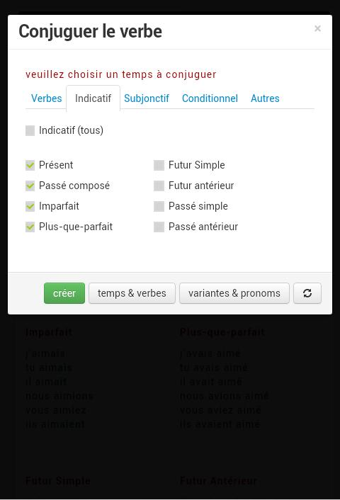 Conjugaison Francaise For Android Apk Download