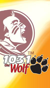 103.1 The Wolf poster