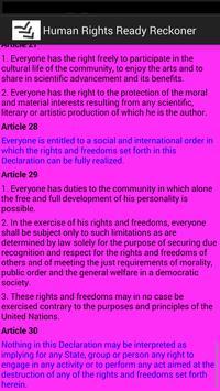 Human Rights Ready Reckoner apk screenshot