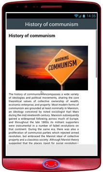 Communism History poster