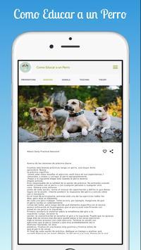 Como Educar a un Perro screenshot 8