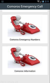 Comoros Emergency Call poster