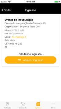 Comanda VIP apk screenshot