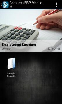 Comarch ERP Mobile BI poster