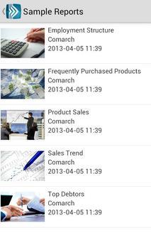 Comarch ERP Mobile BI screenshot 1