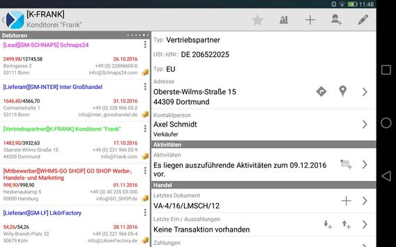 Comarch Mobile Sales DACH apk screenshot