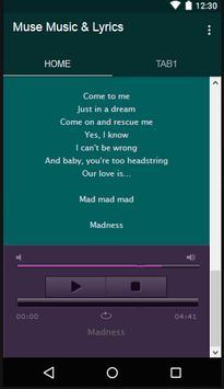 Muse Music & Lyrics screenshot 3