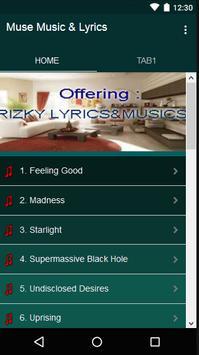 Muse Music & Lyrics screenshot 1