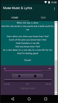 Muse Music & Lyrics screenshot 2
