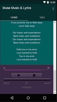Muse Music & Lyrics screenshot 4