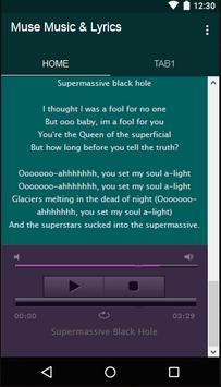 Muse Music & Lyrics screenshot 5