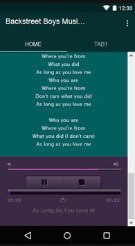 Backstreet Boys Music & Lyrics screenshot 3