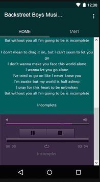 Backstreet Boys Music & Lyrics screenshot 5